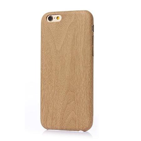 Etui na iPhone 6 / 6s elastyczne silikonowe, efekt drewna.