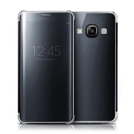 Samsung Galaxy A5 etui Flip Clear View czarne z klapką.