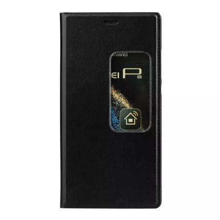 Etui na Huawei P9 Flip S View z klapką - czarne.