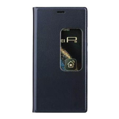 Etui na Huawei P9 Flip S View z klapką - granatowe.