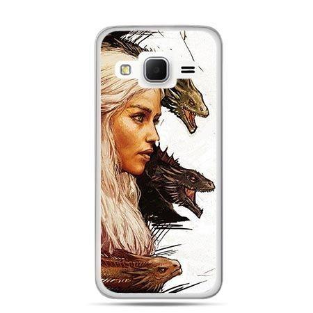 Etui na Galaxy J3 (2016r) Gra o Tron Daenerys Targaryen