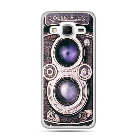 Etui na Galaxy J3 (2016r) aparat Rolleiflex