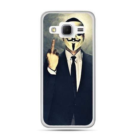 Etui na Galaxy J3 (2016r) Anonimus Fuck You