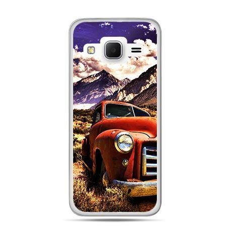 Etui na Galaxy J3 (2016r) retro pick-up