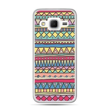 Etui na Galaxy J3 (2016r) Azteckie wzory