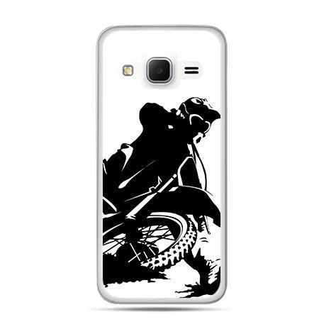 Etui na Galaxy J3 (2016r) motocykl cross