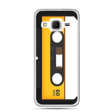 Etui na Galaxy J3 (2016r) kaseta magnetofonowa