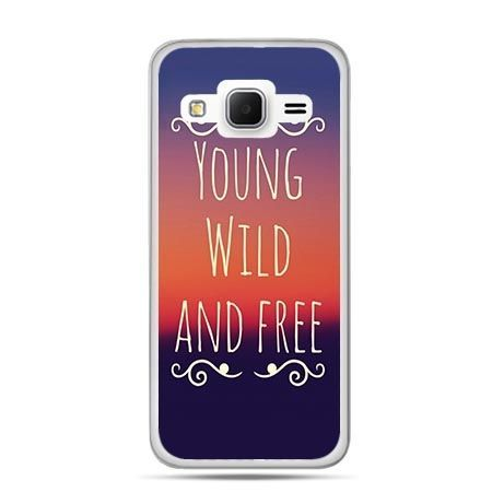 Etui na Galaxy J3 (2016r) Young wild and free