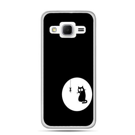 Etui na Galaxy J3 (2016r) kotek