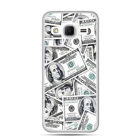 Etui na Galaxy J3 (2016r) dolary banknoty