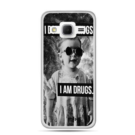 Etui na Galaxy J3 (2016r) I don`t do drugs I am drugs