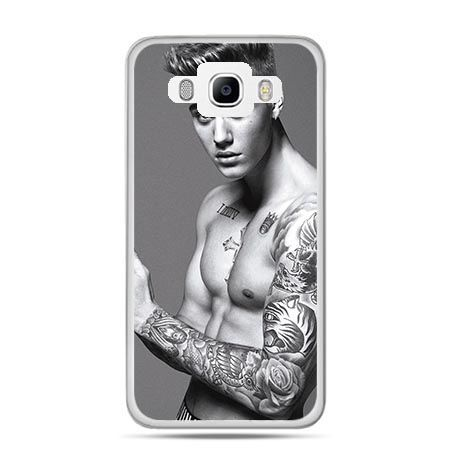 Etui na Galaxy J5 (2016r) Justin Bieber w tatuażach