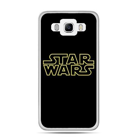 Etui na Galaxy J5 (2016r) Star Wars złoty napis