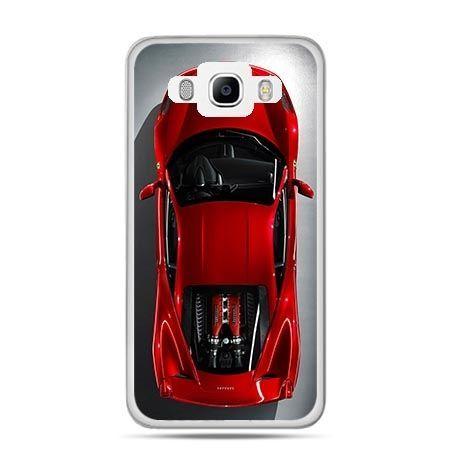 Etui na Galaxy J5 (2016r) czerwone Ferrari