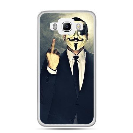Etui na Galaxy J5 (2016r) Anonimus Fuck You