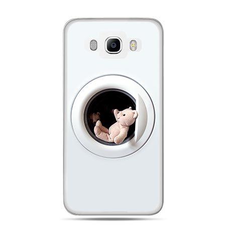 Etui na Galaxy J5 (2016r) miś w pralce