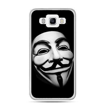 Etui na Galaxy J5 (2016r) maska Anonimus