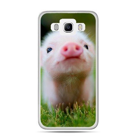 Etui na Galaxy J5 (2016r) świnka