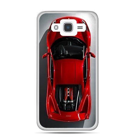 Etui na Galaxy J7 (2016r) czerwone Ferrari