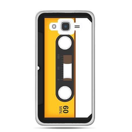 Etui na Galaxy J7 (2016r) kaseta magnetofonowa