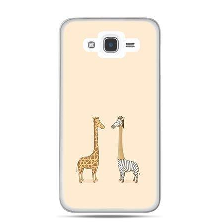 Etui na Galaxy J7 (2016r) żyrafy