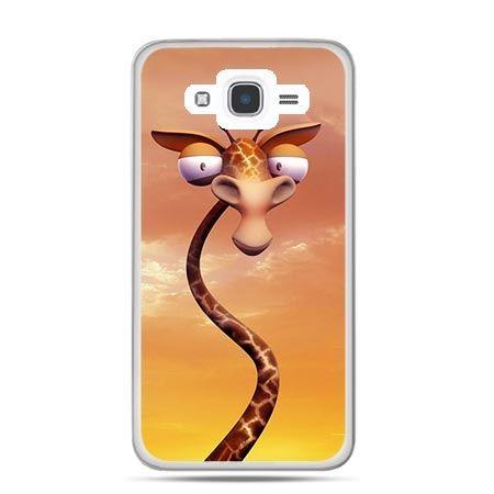 Etui na Galaxy J7 (2016r) śmieszna żyrafa