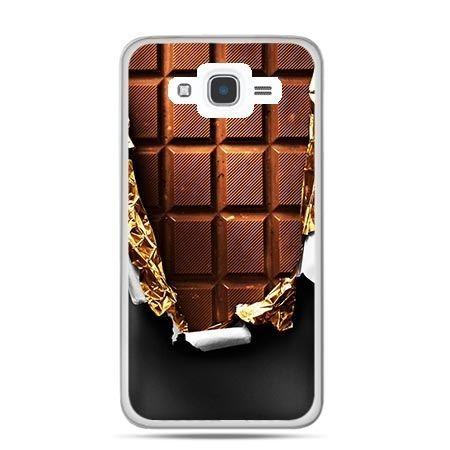 Etui na Galaxy J7 (2016r) czekolada
