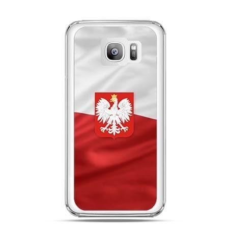 Etui na telefon Galaxy S7 Edge flaga Polski