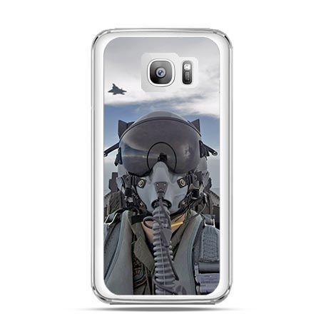 Etui na telefon Galaxy S7 Edge pilot myśliwca