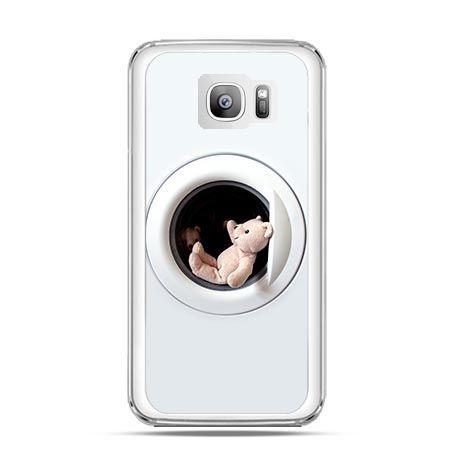 Etui na telefon Galaxy S7 Edge miś w pralce