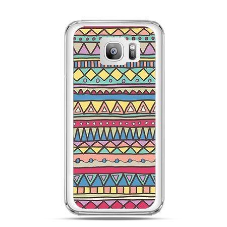 Etui na telefon Galaxy S7 Edge Azteckie wzory
