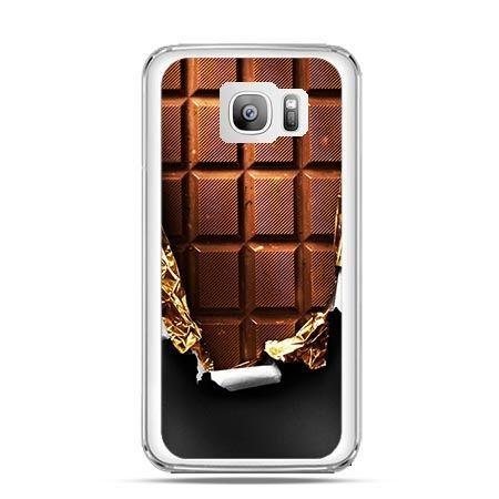 Etui na telefon Galaxy S7 Edge czekolada