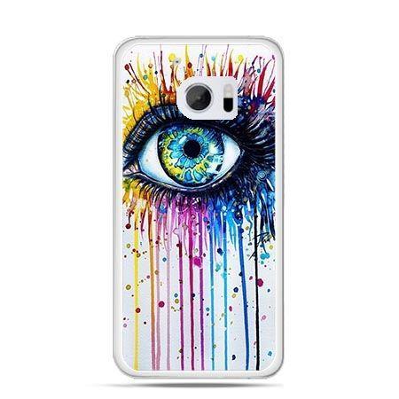 Etui na telefon HTC 10 kolorowe oko