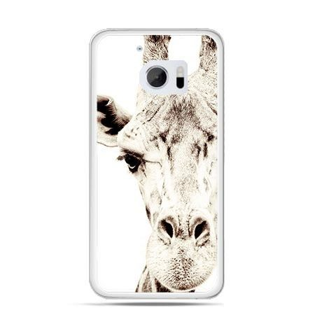 Etui na telefon HTC 10 żyrafa