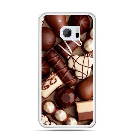 Etui na telefon HTC 10 czekoladki
