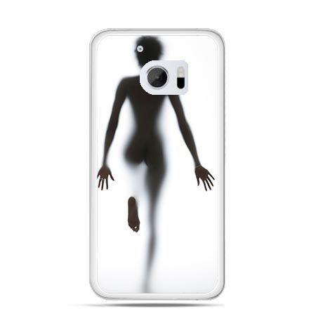 Etui na telefon HTC 10 kobieta za szybą