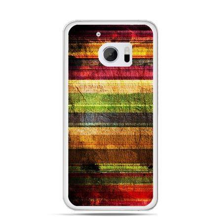 Etui na telefon HTC 10 kolorowe deski