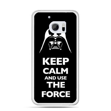 Etui na telefon HTC 10 Keep calm and use the force