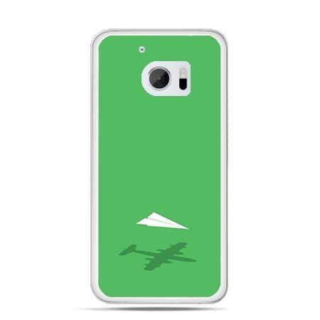 Etui na telefon HTC 10 samolot z papieru
