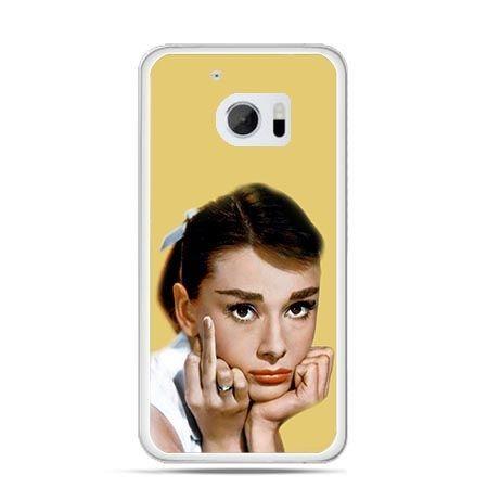 Etui na telefon HTC 10 Audrey Hepburn Fuck You