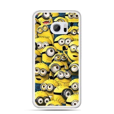Etui na telefon HTC 10 Minionki grupa