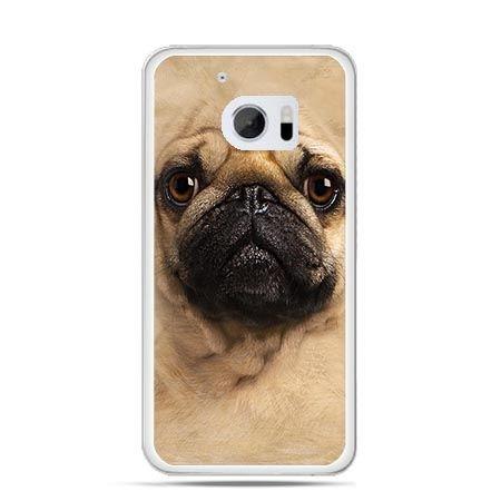 Etui na telefon HTC 10 pies szczeniak Face 3d