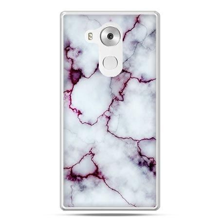 Etui na telefon Huawei Mate 8 różowy marmur