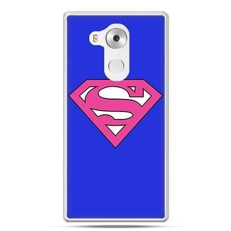 Etui na telefon Huawei Mate 8 Supergirl