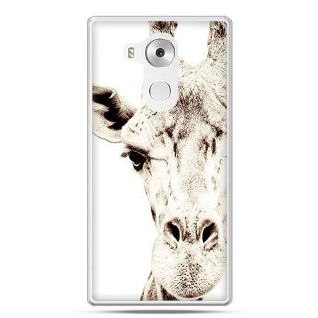 Etui na telefon Huawei Mate 8 żyrafa