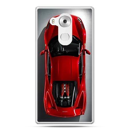 Etui na telefon Huawei Mate 8 czerwone Ferrari