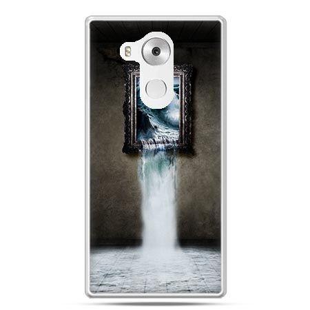 Etui na telefon Huawei Mate 8 obraz wodospad