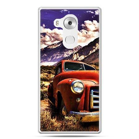 Etui na telefon Huawei Mate 8 retro pick-up