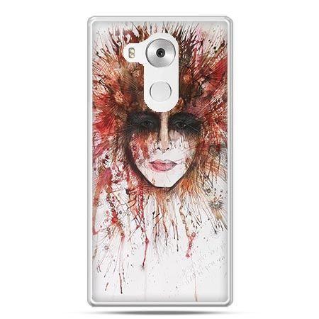 Etui na telefon Huawei Mate 8 tajemnicza twarz