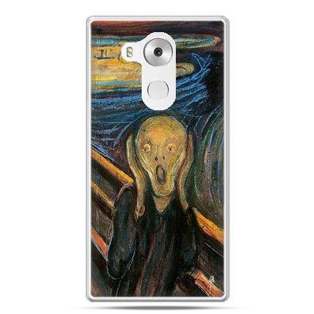 Etui na telefon Huawei Mate 8 Krzyk Munka